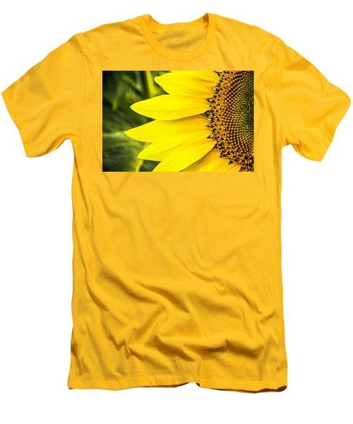 Sunflower Sunshine Men's T-Shirt (Slim Fit) by Steven Bateson
