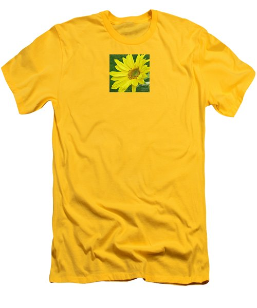 Sunny Side Up Men's T-Shirt (Slim Fit) by Janice Westerberg