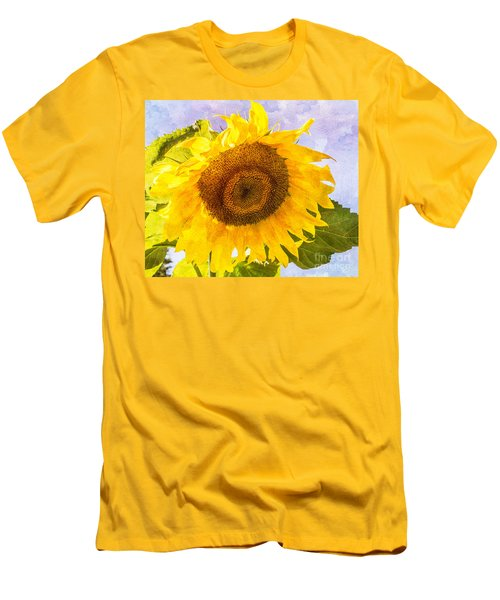Sweet Sunflower Men's T-Shirt (Athletic Fit)