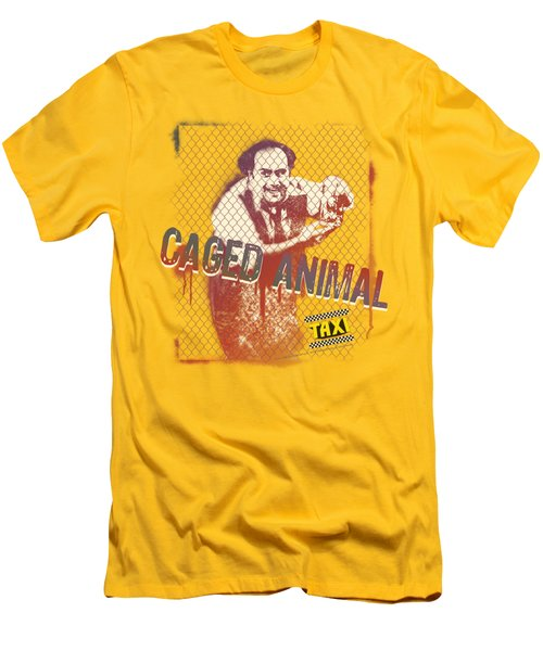 Taxi - Caged Animal Men's T-Shirt (Athletic Fit)