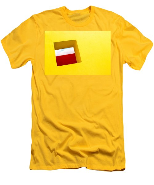 the Red Rectangle Men's T-Shirt (Athletic Fit)