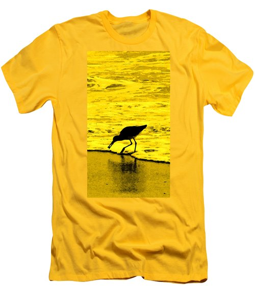 Men's T-Shirt (Slim Fit) featuring the photograph This Beach Belongs To Me by Ian  MacDonald