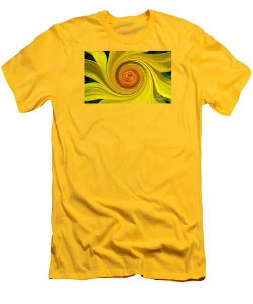 Twisted Men's T-Shirt (Slim Fit) by Janice Westerberg