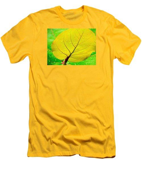 Weathered Men's T-Shirt (Slim Fit) by Joy Hardee