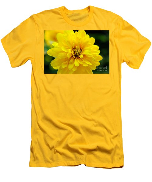 West Virginia Marigold Men's T-Shirt (Slim Fit) by Melissa Petrey