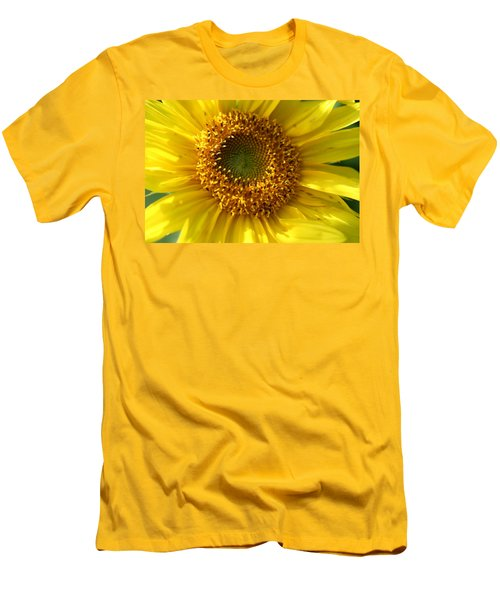 Men's T-Shirt (Slim Fit) featuring the photograph Yellow Sunshine by Neal Eslinger