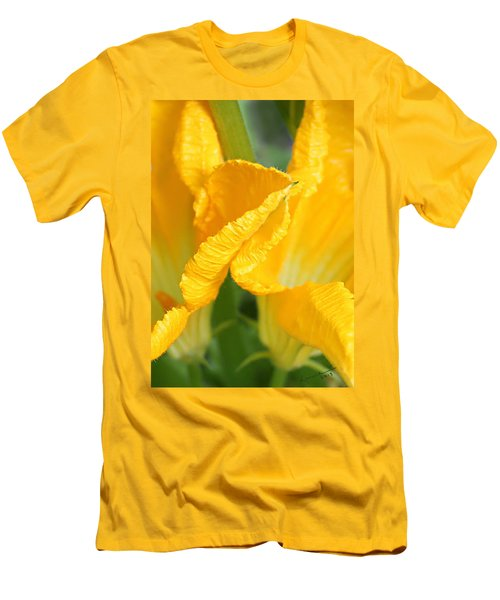 Zucchini Flowers In May Men's T-Shirt (Athletic Fit)
