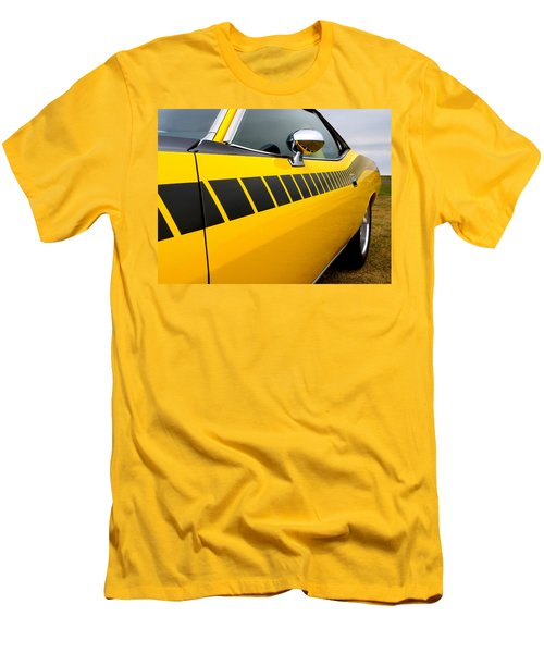 Cuda Stripes Men's T-Shirt (Athletic Fit)