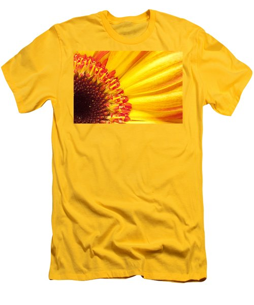 Men's T-Shirt (Slim Fit) featuring the photograph Little Bit Of Sunshine by Eunice Gibb