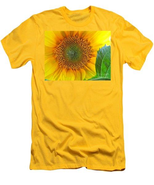 The Last Sunflower Men's T-Shirt (Slim Fit) by Sean Griffin