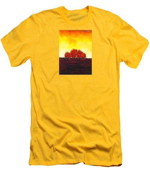 Big Red Men's T-Shirt (Slim Fit) by William Renzulli