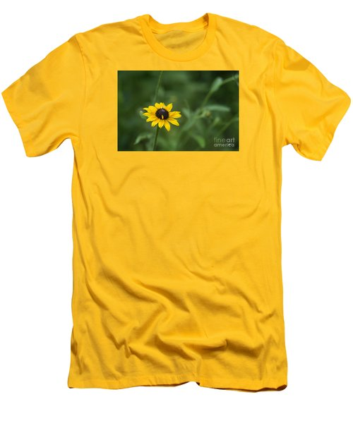 Men's T-Shirt (Slim Fit) featuring the photograph Black Eye Susan by Alana Ranney