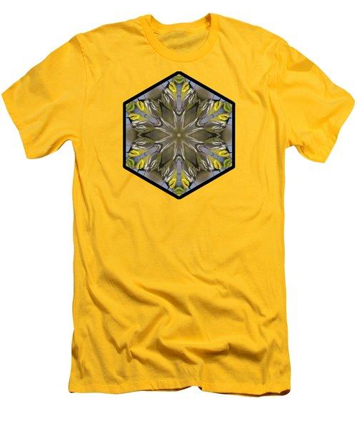 Black-throated Green Warbler Men's T-Shirt (Slim Fit) by Rhoda Gerig
