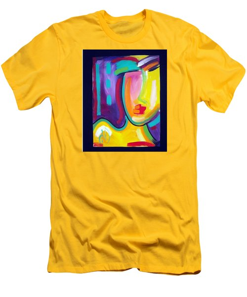 Face Men's T-Shirt (Slim Fit) by Heather Roddy