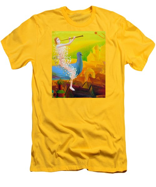 Flight Of The Soul Men's T-Shirt (Athletic Fit)
