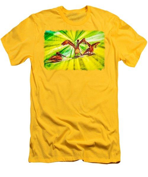 It's All Good Men's T-Shirt (Slim Fit) by John M Bailey