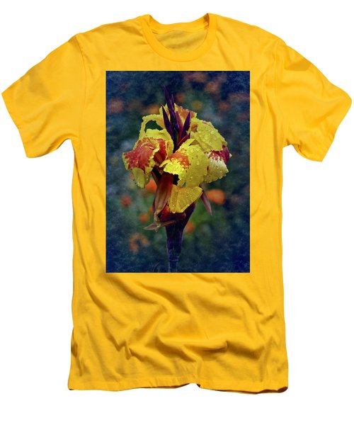 Vintage Canna Lily Men's T-Shirt (Athletic Fit)