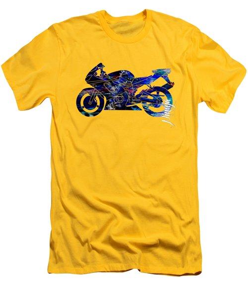 Ninja Motorcycle Men's T-Shirt (Athletic Fit)