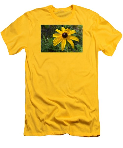 Men's T-Shirt (Slim Fit) featuring the photograph Brown Eyed Susan  by Lyle Crump