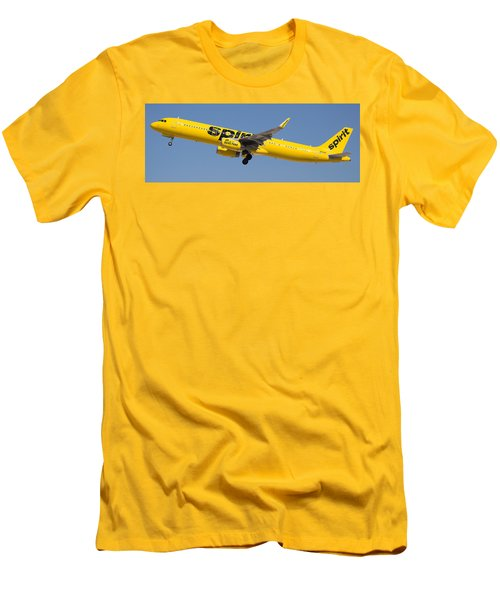 Spirit Airline Men's T-Shirt (Athletic Fit)