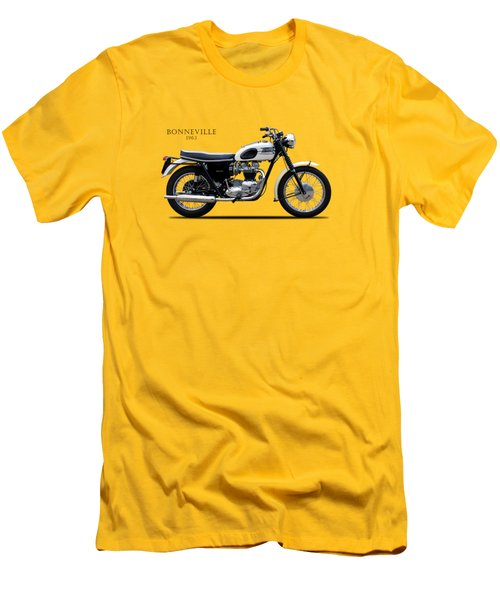Triumph Bonneville 1963 Men's T-Shirt (Athletic Fit)
