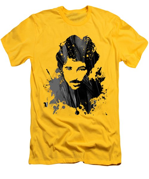 Bruce Springsteen Collection Men's T-Shirt (Slim Fit) by Marvin Blaine