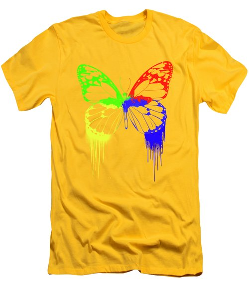 Paint Drips Men's T-Shirt (Athletic Fit)