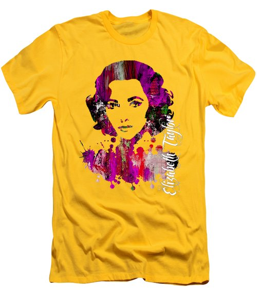 Elizabeth Taylor Collection Men's T-Shirt (Athletic Fit)