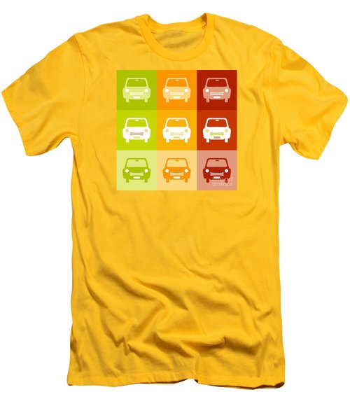 9 Cars Men's T-Shirt (Athletic Fit)