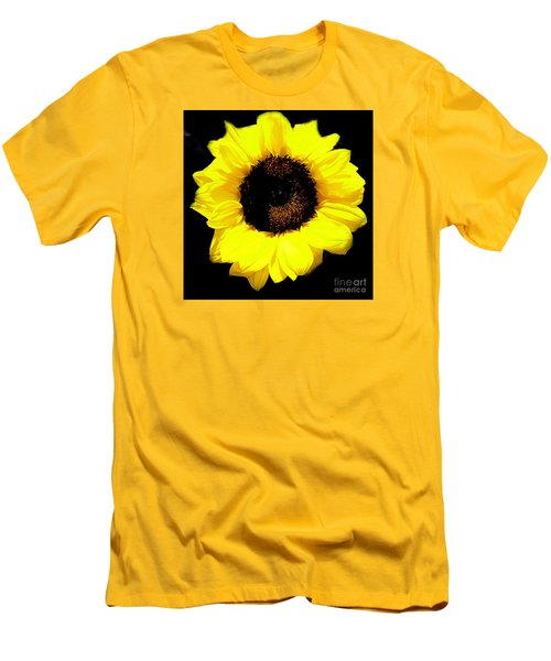 A Single Sunflower Men's T-Shirt (Athletic Fit)