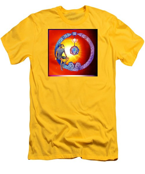 Alien  Dream Men's T-Shirt (Slim Fit) by Hartmut Jager
