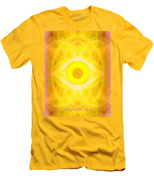 Angel Of The Sun Men's T-Shirt (Athletic Fit)