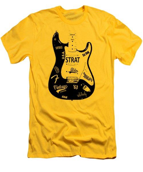 Fender Stratocaster 63 Men's T-Shirt (Athletic Fit)