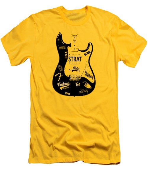 Fender Stratocaster 64 Men's T-Shirt (Athletic Fit)