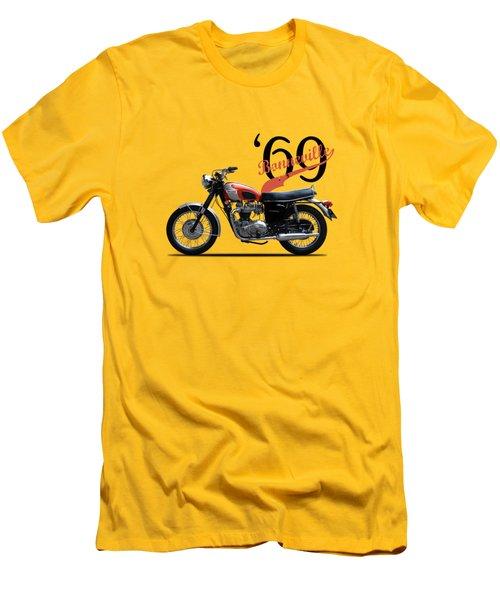 Triumph Bonneville T120 1969 Men's T-Shirt (Athletic Fit)