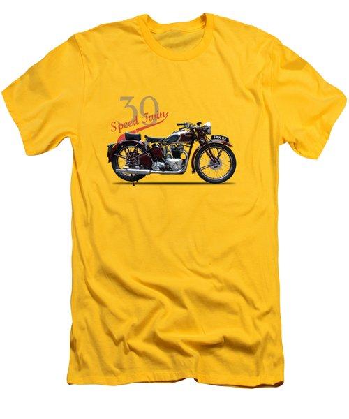 Speed Twin 1939 Men's T-Shirt (Slim Fit) by Mark Rogan