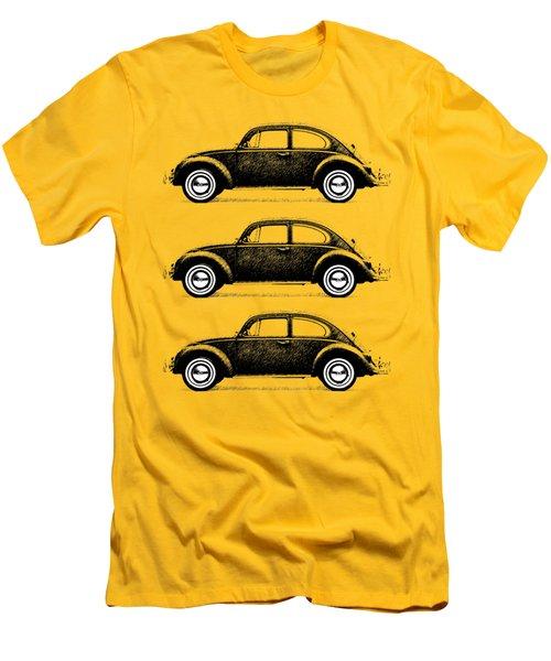 Think Small Men's T-Shirt (Slim Fit) by Mark Rogan