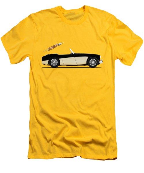 Austin Healey 3000 Men's T-Shirt (Slim Fit) by Mark Rogan
