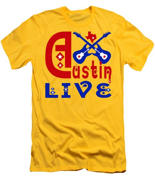 Austin Live Men's T-Shirt (Athletic Fit)