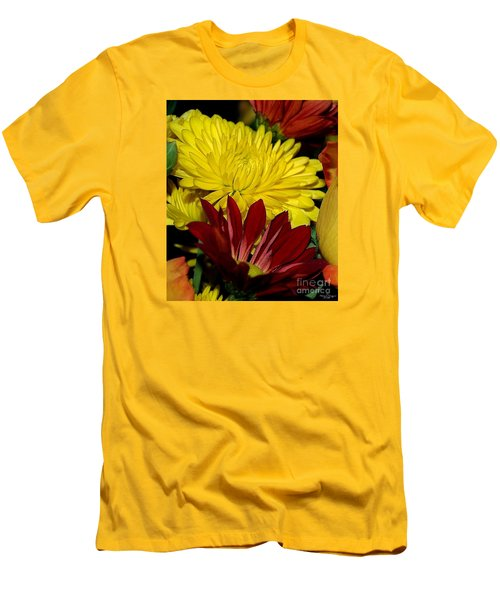 Men's T-Shirt (Slim Fit) featuring the photograph Autumn Colors by Patricia Griffin Brett