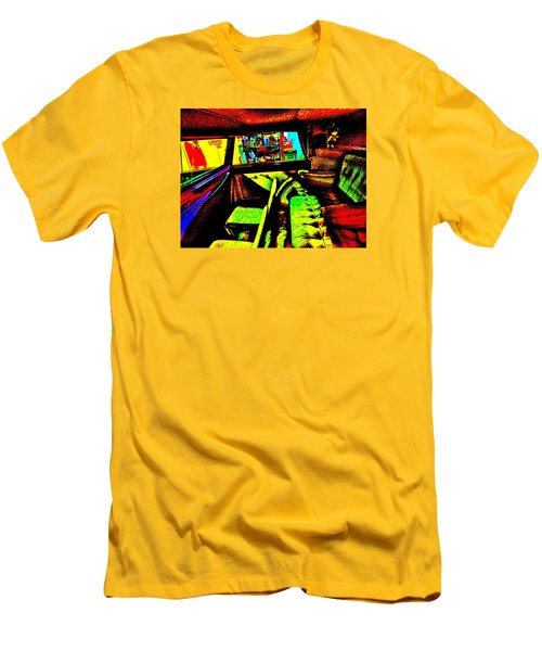 Bahre Car Show II 27 Men's T-Shirt (Slim Fit) by George Ramos