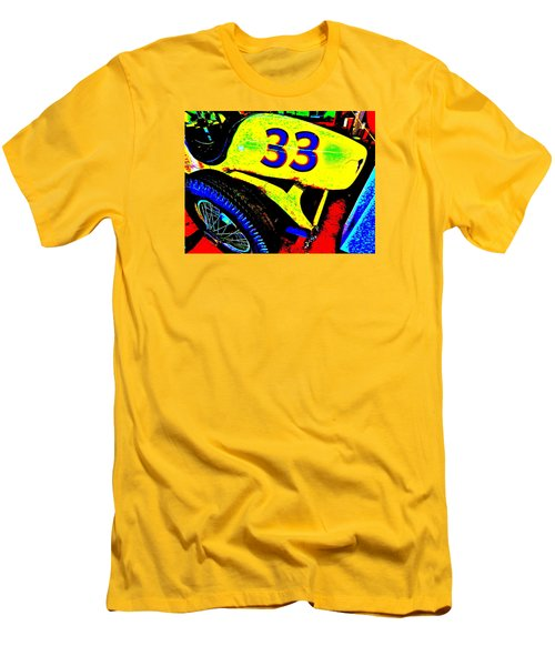 Bahre Car Show II 34 Men's T-Shirt (Slim Fit) by George Ramos