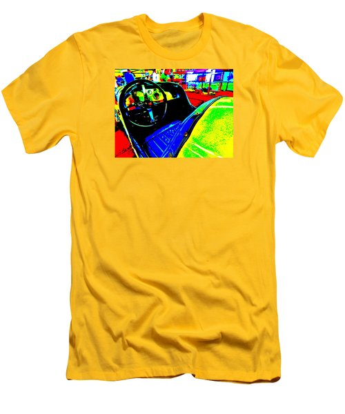Bahre Car Show II 35 Men's T-Shirt (Slim Fit) by George Ramos