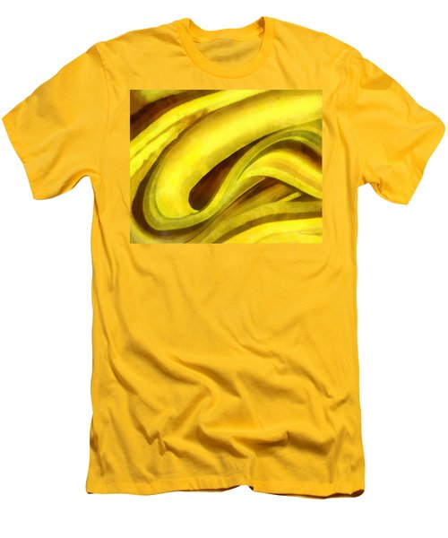 Banana With Chocolate Men's T-Shirt (Athletic Fit)
