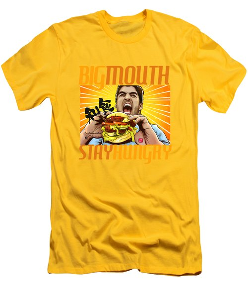 Bigmouth Men's T-Shirt (Slim Fit) by Akyanyme