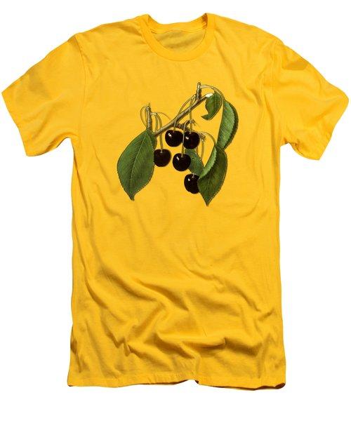 Black Cherries Men's T-Shirt (Athletic Fit)