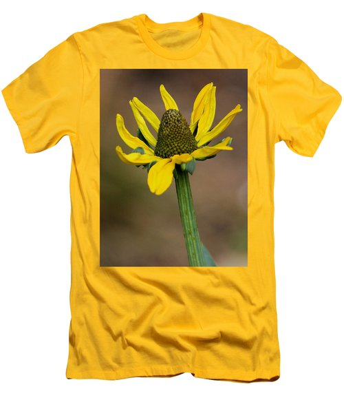 Men's T-Shirt (Slim Fit) featuring the photograph Bright And Shining by Deborah  Crew-Johnson