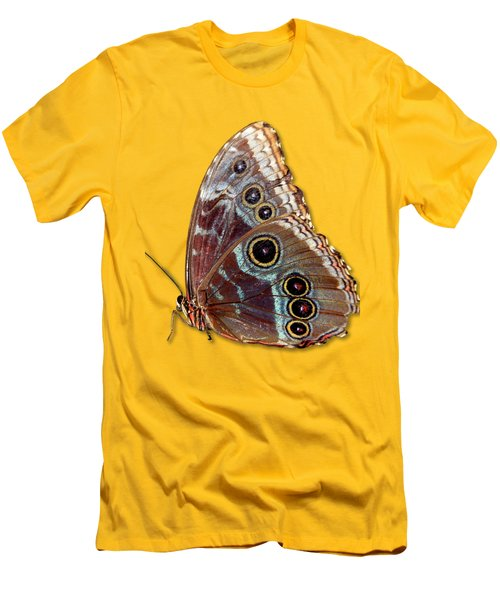 Butterfly Macro Men's T-Shirt (Slim Fit) by Bob Slitzan