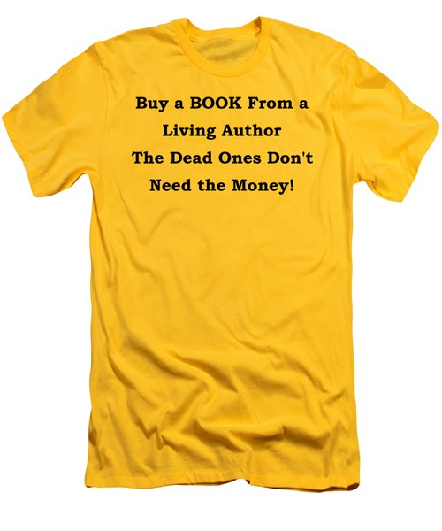 Buy From Living Author Men's T-Shirt (Athletic Fit)