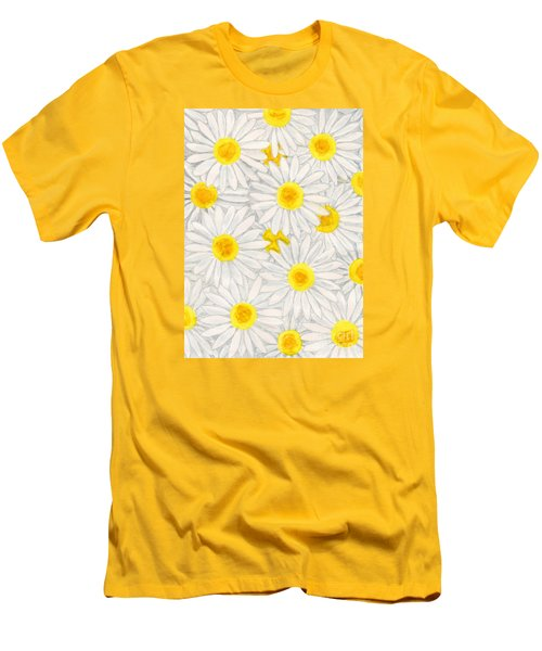 Camomiles Men's T-Shirt (Athletic Fit)